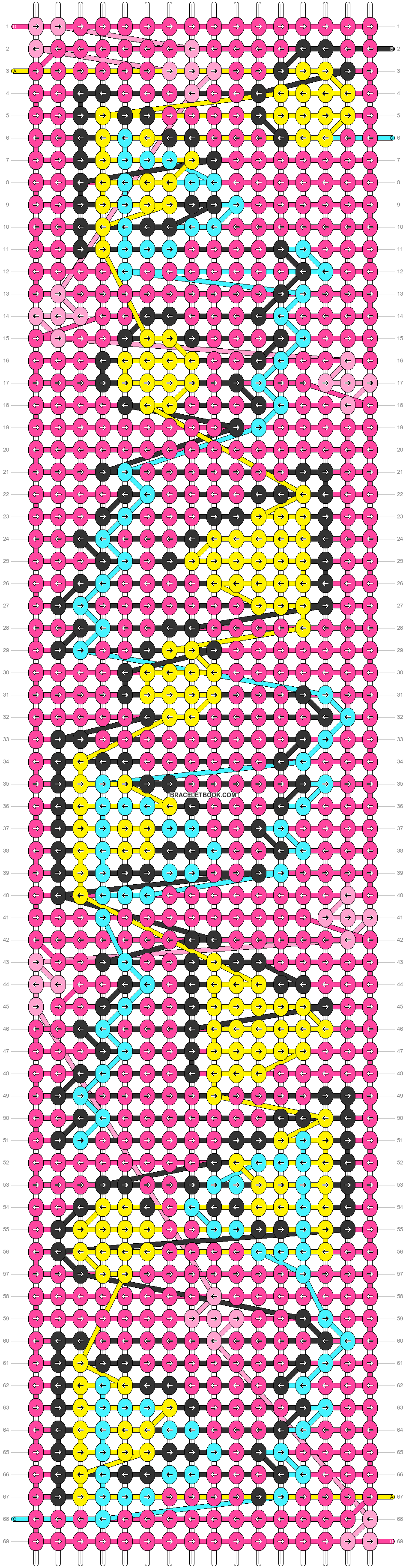Alpha pattern #38734 pattern