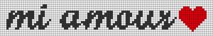 Alpha pattern #38736