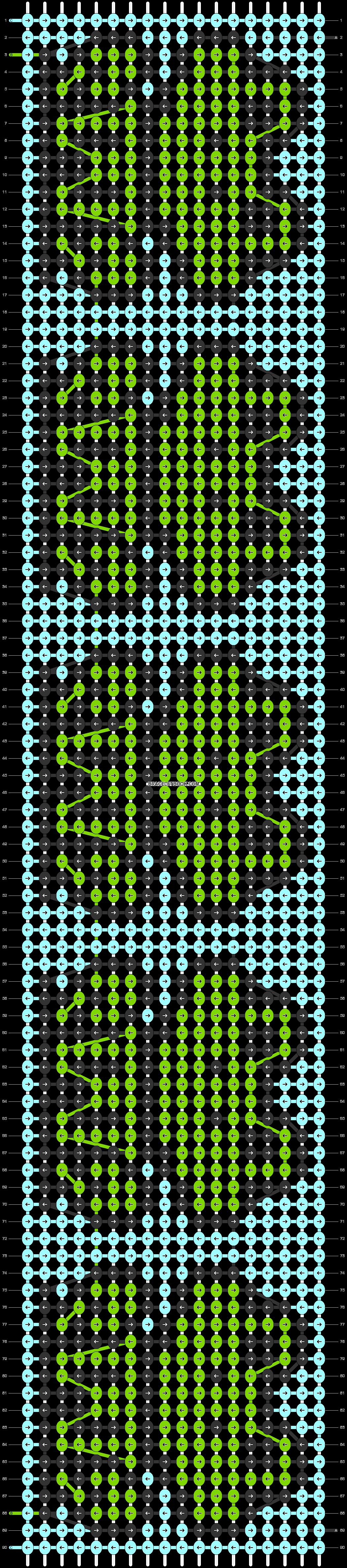 Alpha pattern #38742 pattern