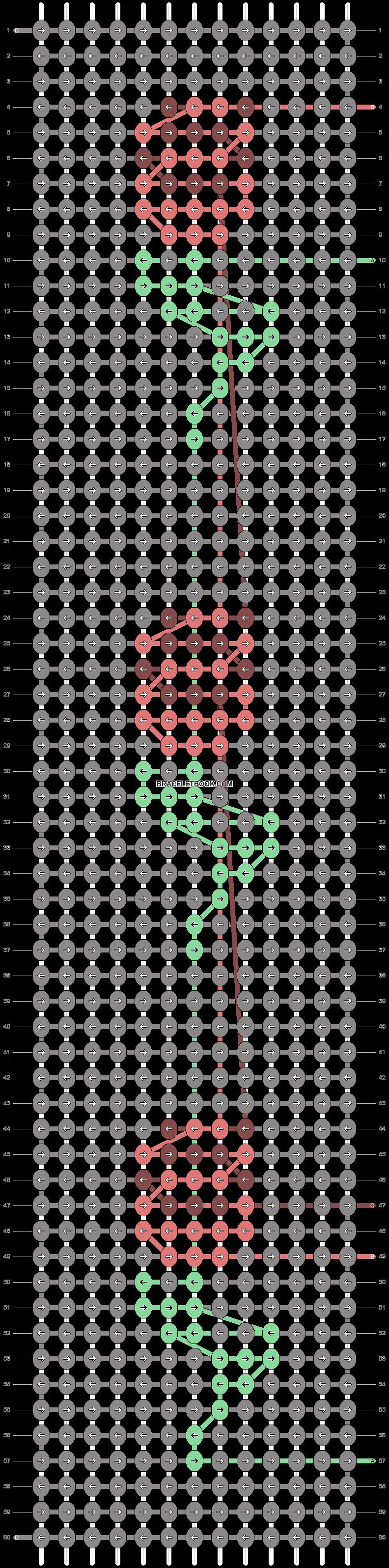 Alpha pattern #38774 pattern