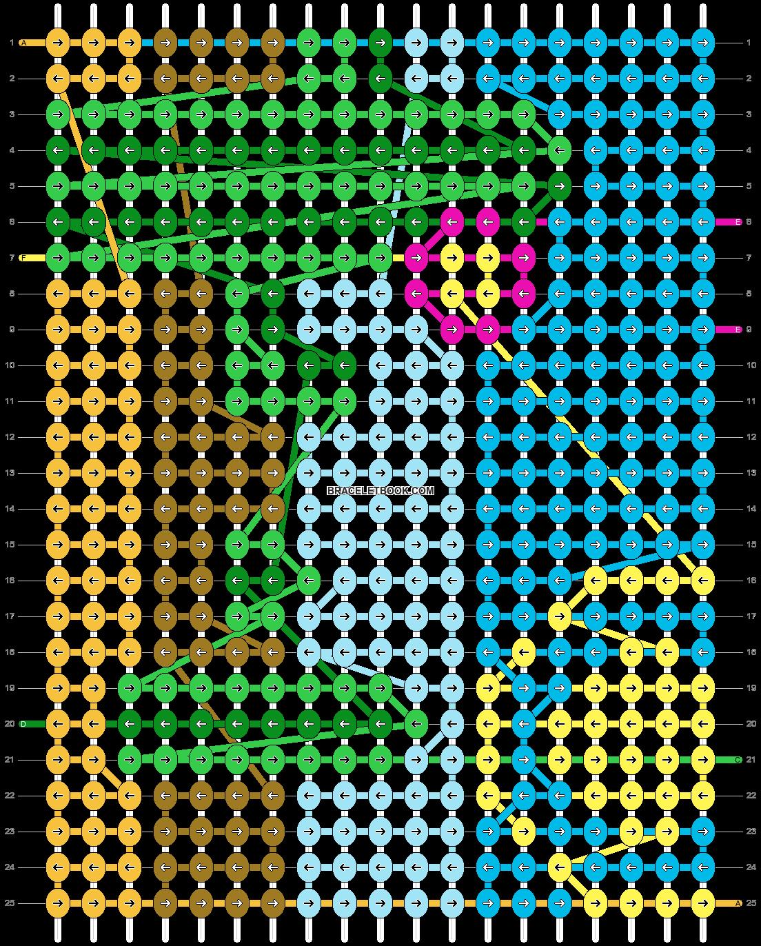 Alpha pattern #38786 pattern