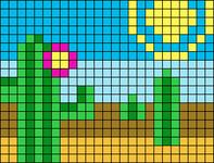 Alpha pattern #38786