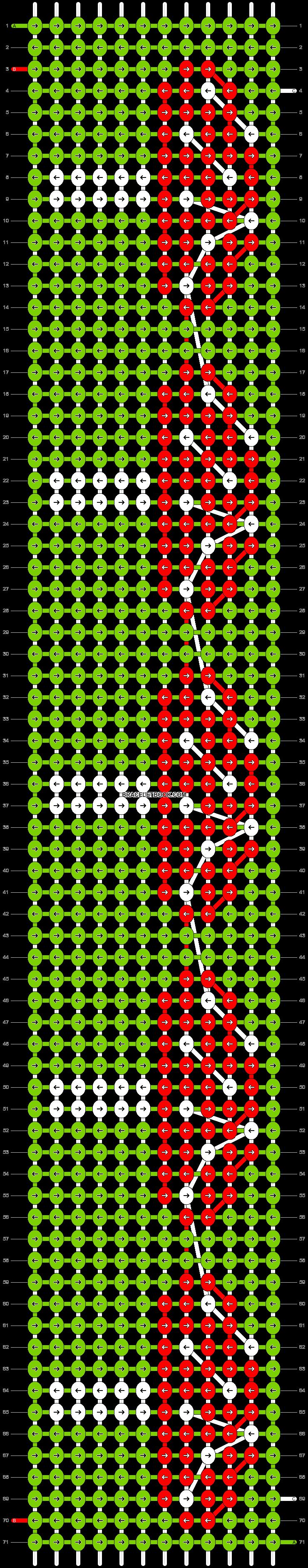 Alpha pattern #38788 pattern