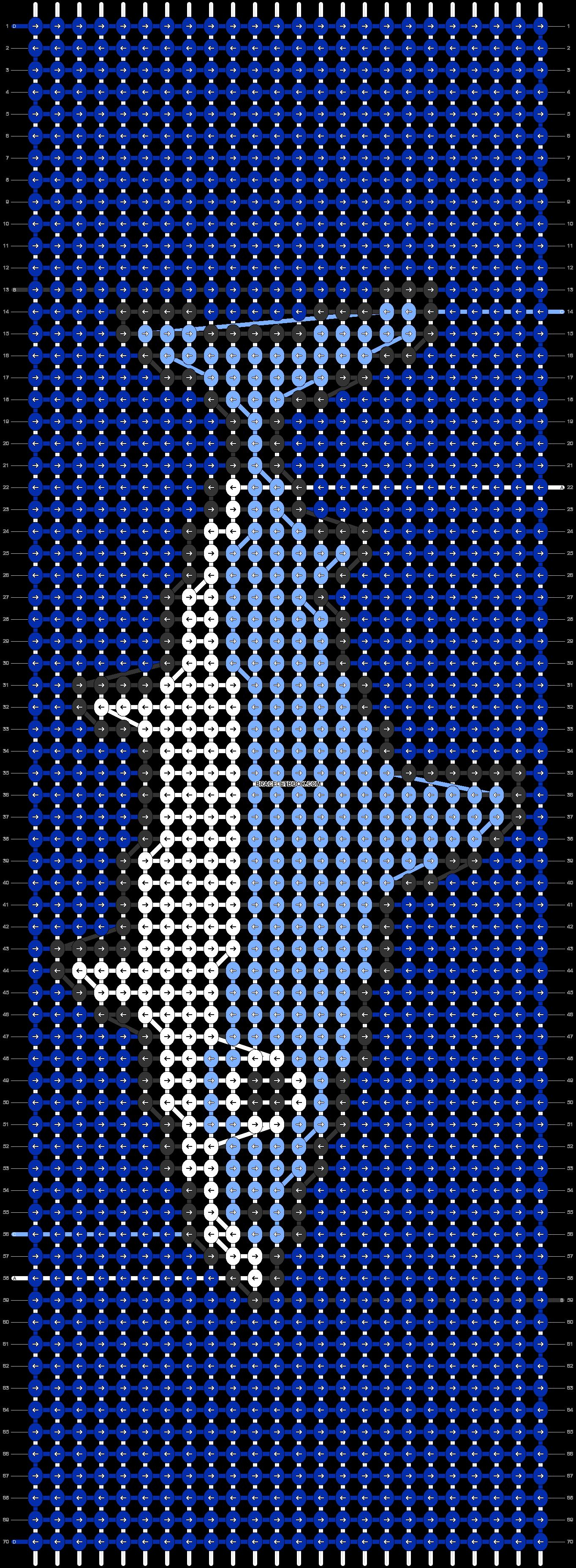 Alpha pattern #38794 pattern