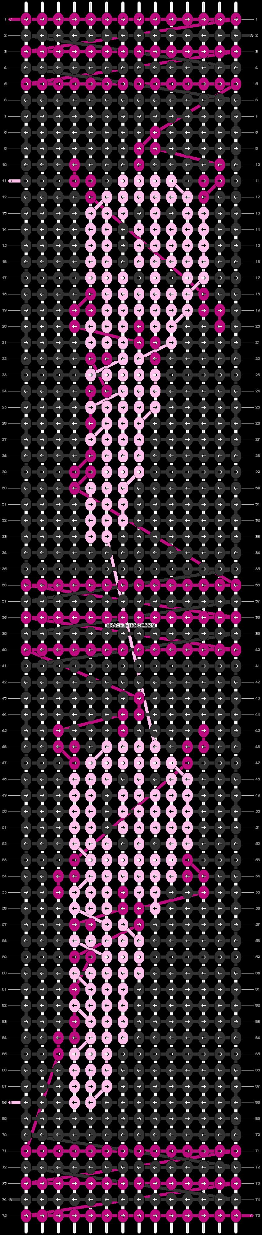 Alpha pattern #38805 pattern