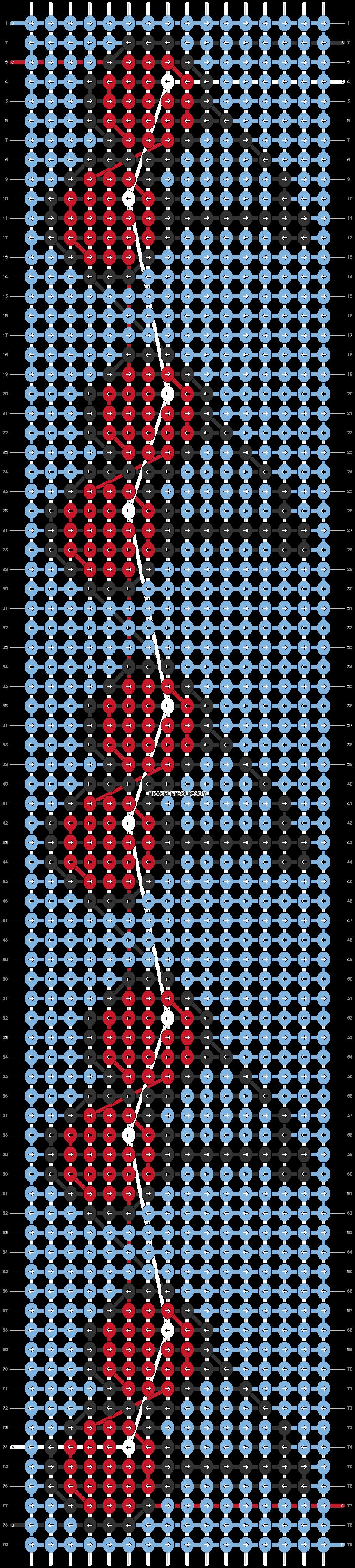Alpha pattern #38806 pattern