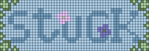Alpha pattern #38817