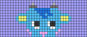 Alpha pattern #38835