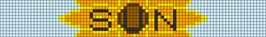 Alpha pattern #38857