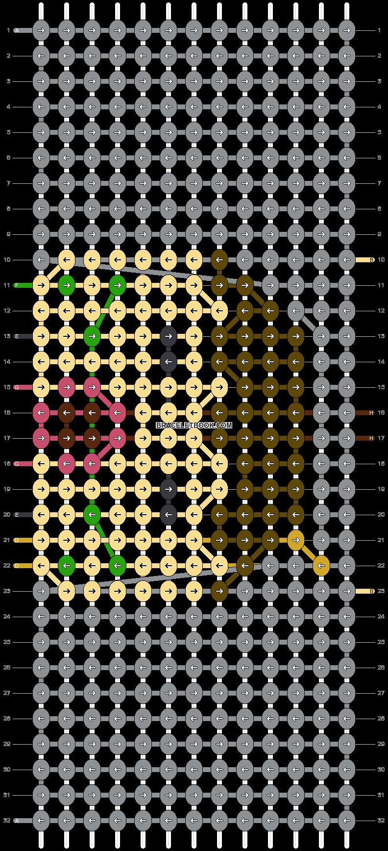 Alpha pattern #38865 pattern