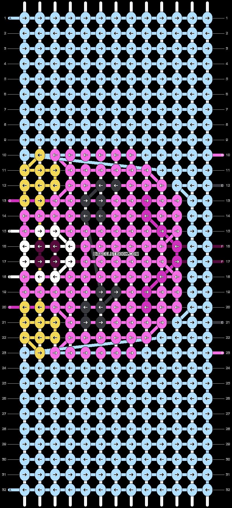 Alpha pattern #38869 pattern