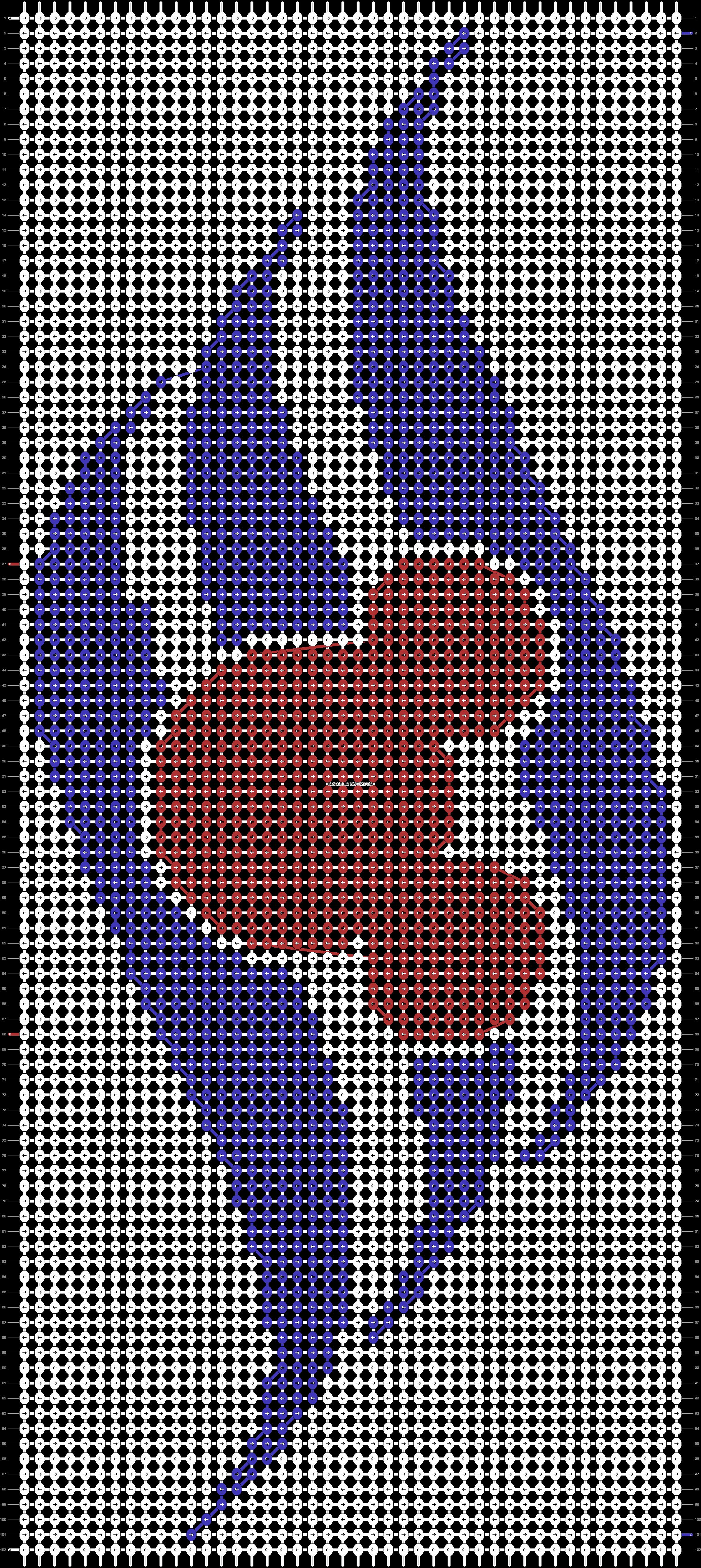 Alpha pattern #38874 pattern