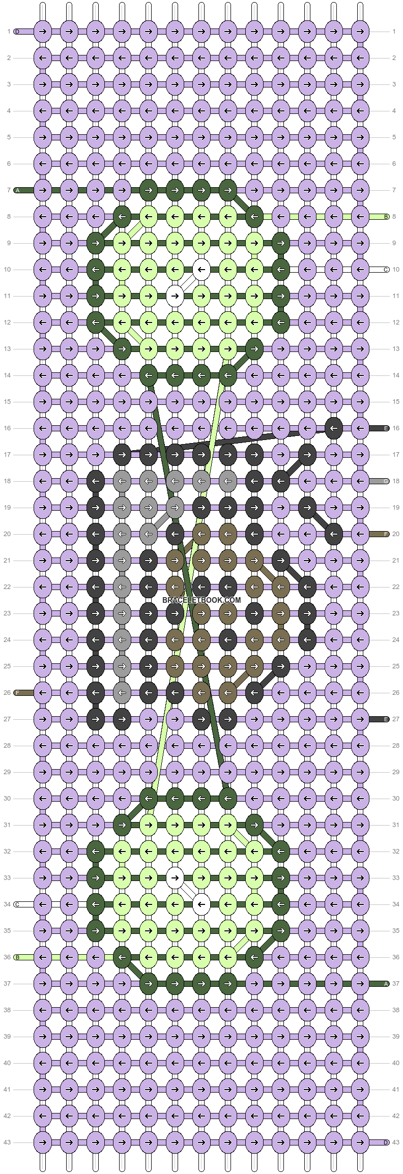Alpha pattern #38877 pattern