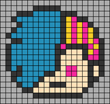Alpha pattern #38878