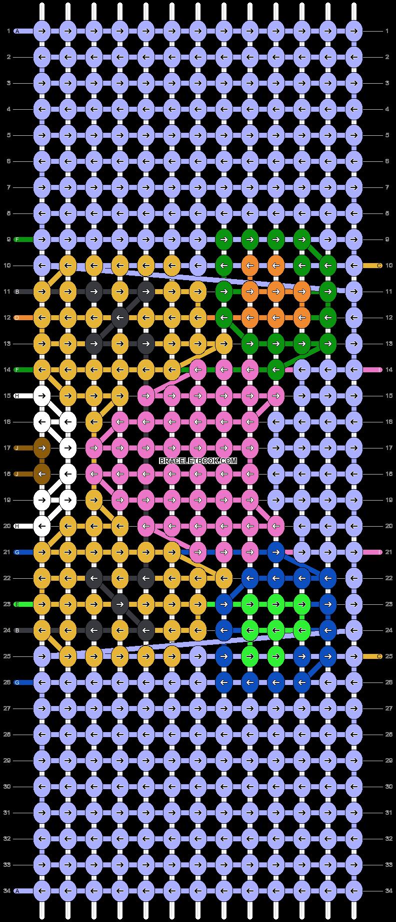 Alpha pattern #38909 pattern