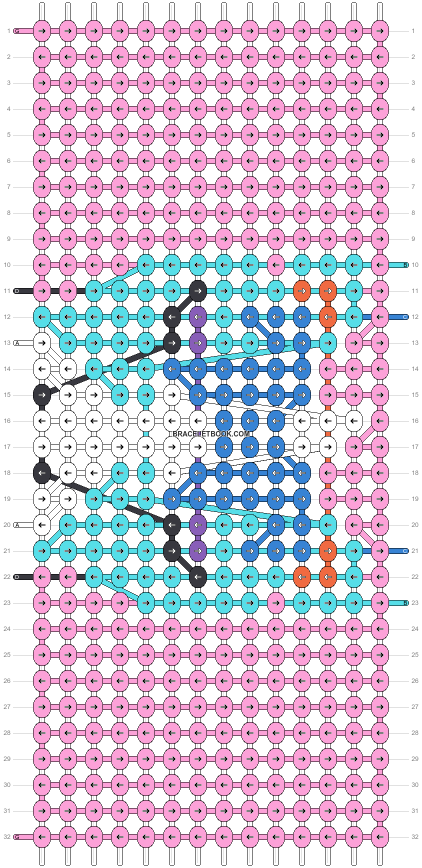 Alpha pattern #38910 pattern