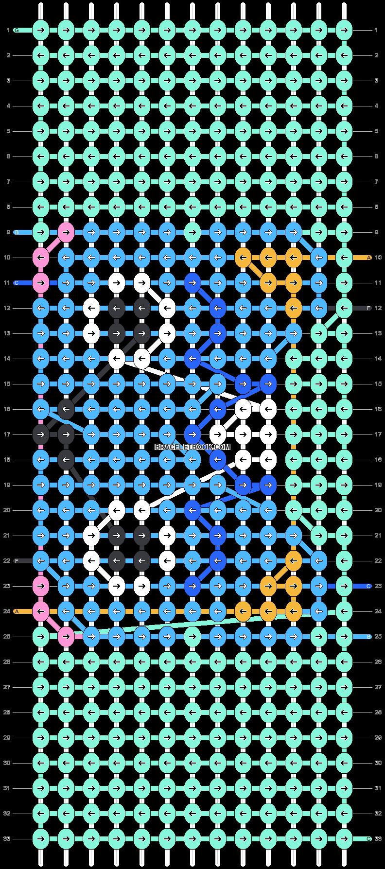Alpha pattern #38934 pattern