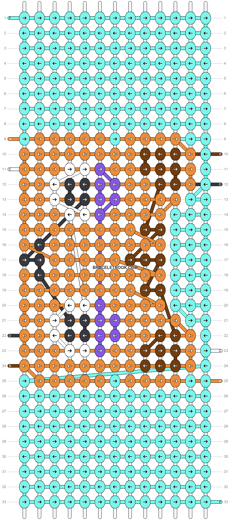 Alpha pattern #38945 pattern