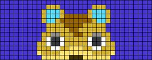 Alpha pattern #38954