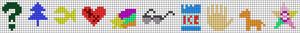 Alpha pattern #38963