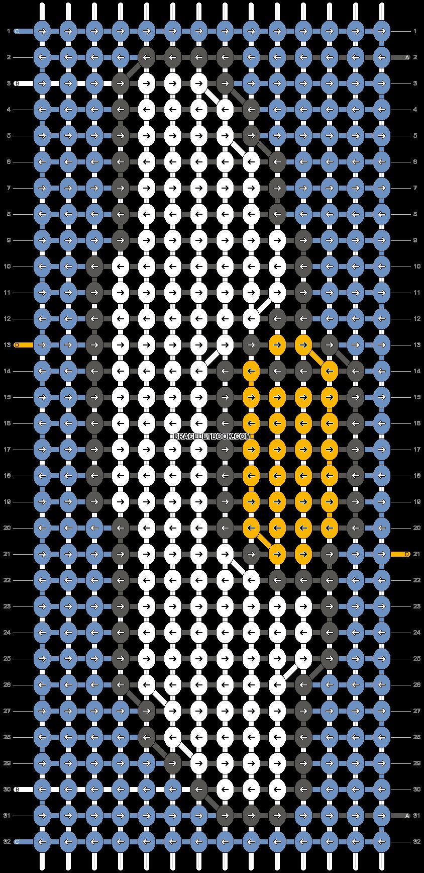 Alpha pattern #38975 pattern