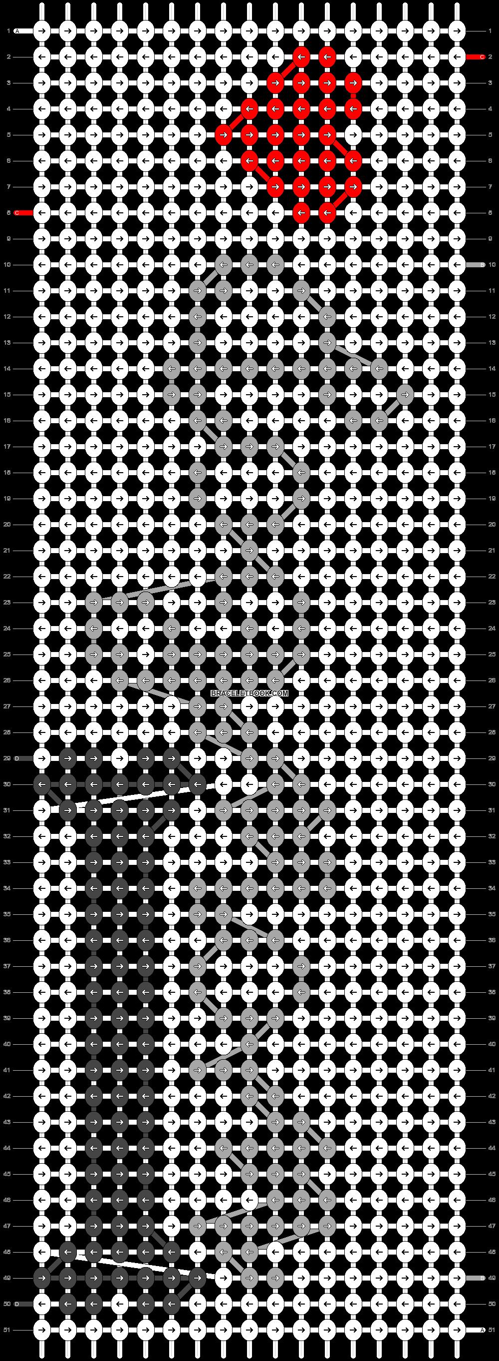Alpha pattern #38996 pattern