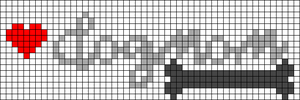 Alpha pattern #38996