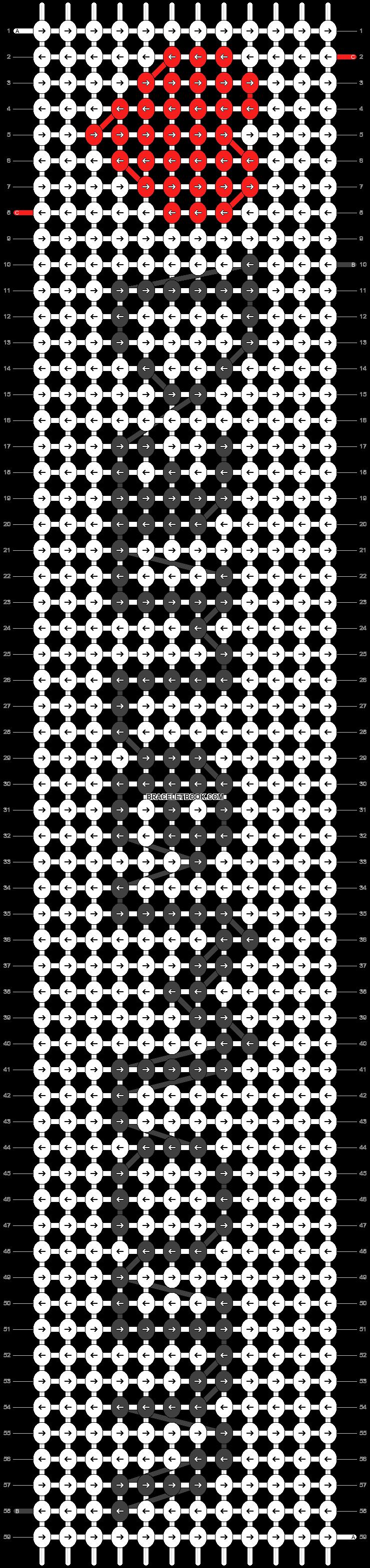 Alpha pattern #39000 pattern