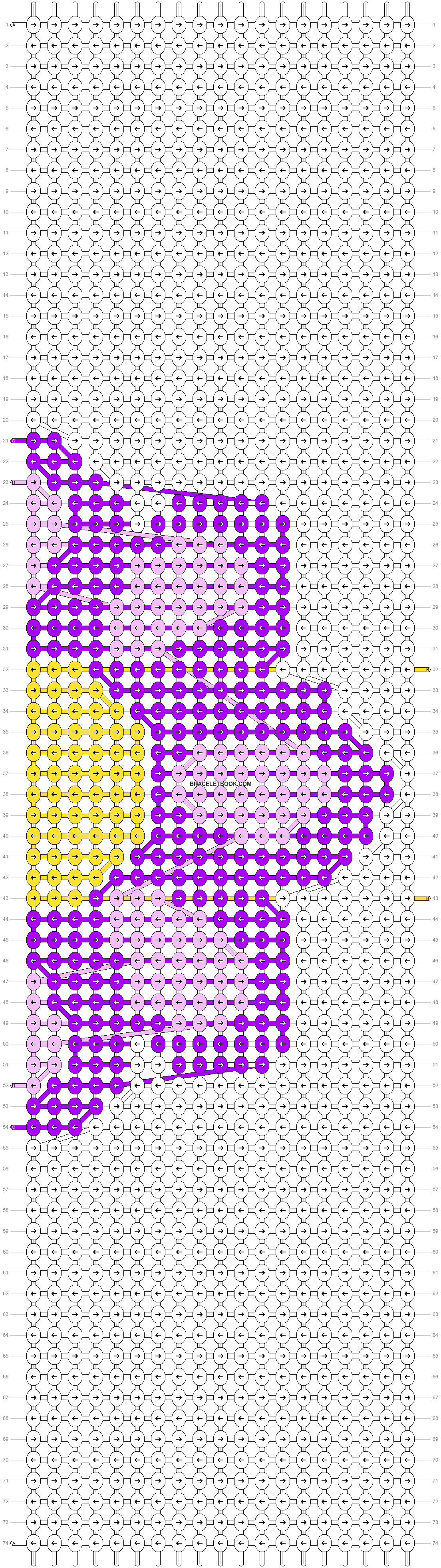 Alpha pattern #39001 pattern