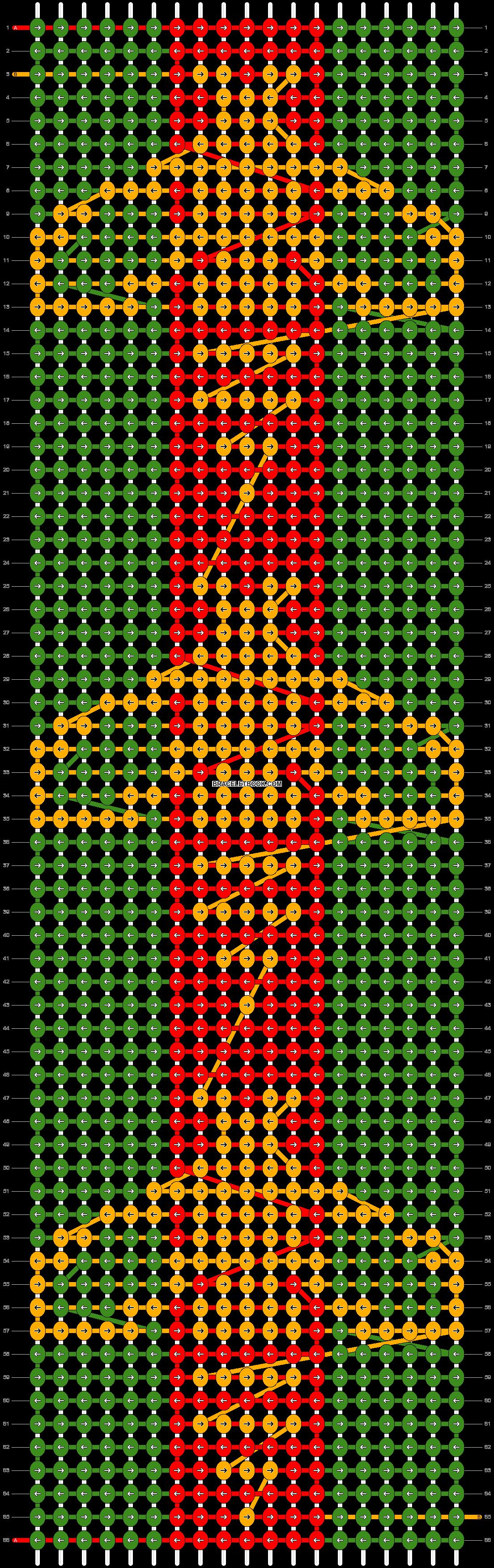 Alpha pattern #39009 pattern