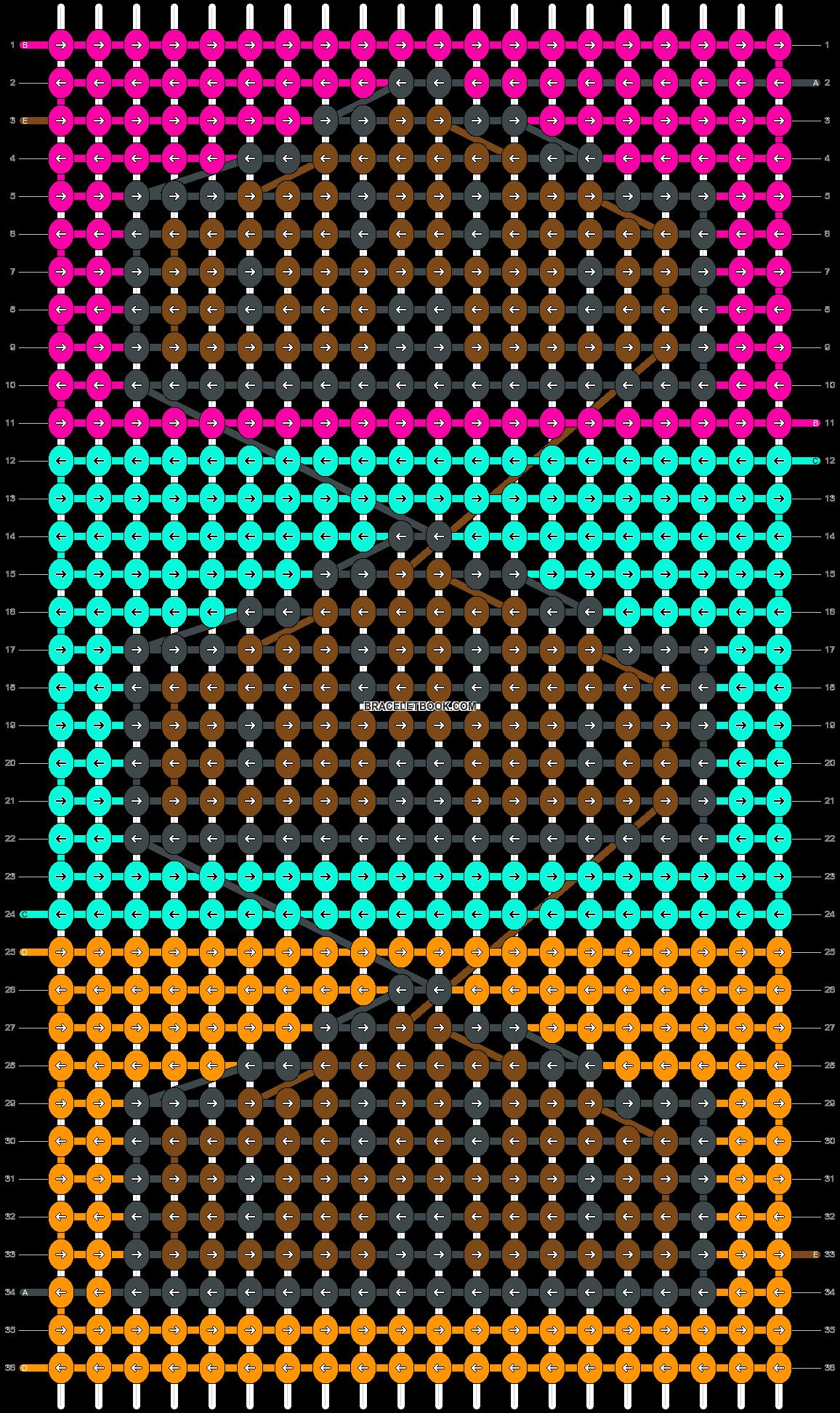 Alpha pattern #39063 pattern