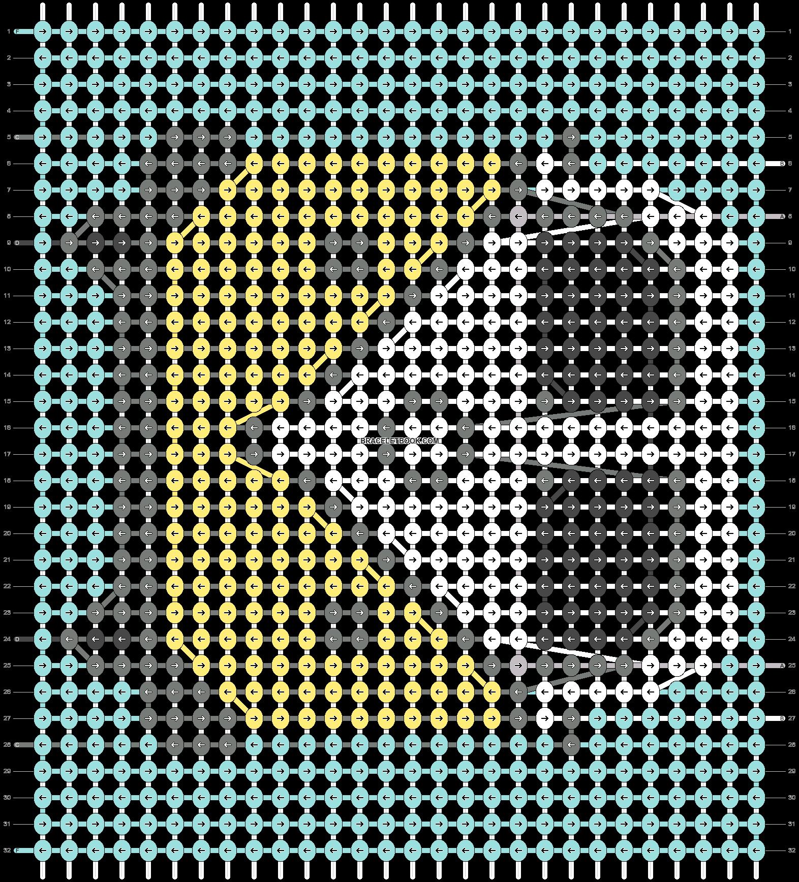 Alpha pattern #39115 pattern