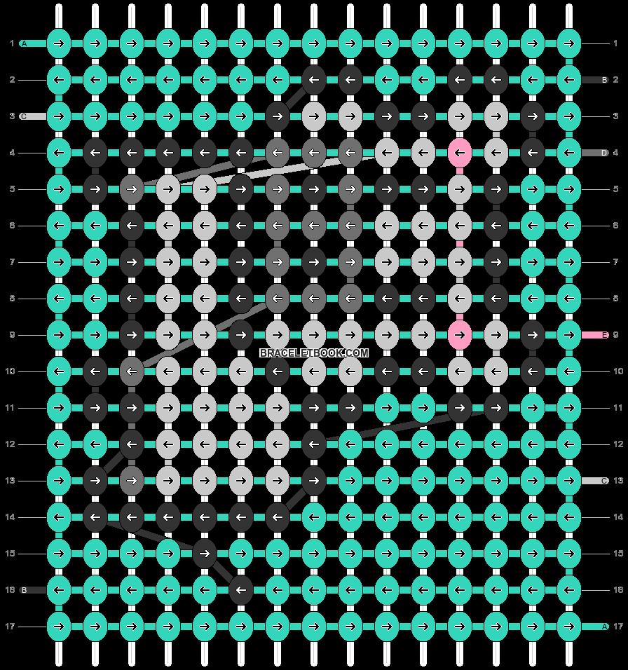 Alpha pattern #39173 pattern