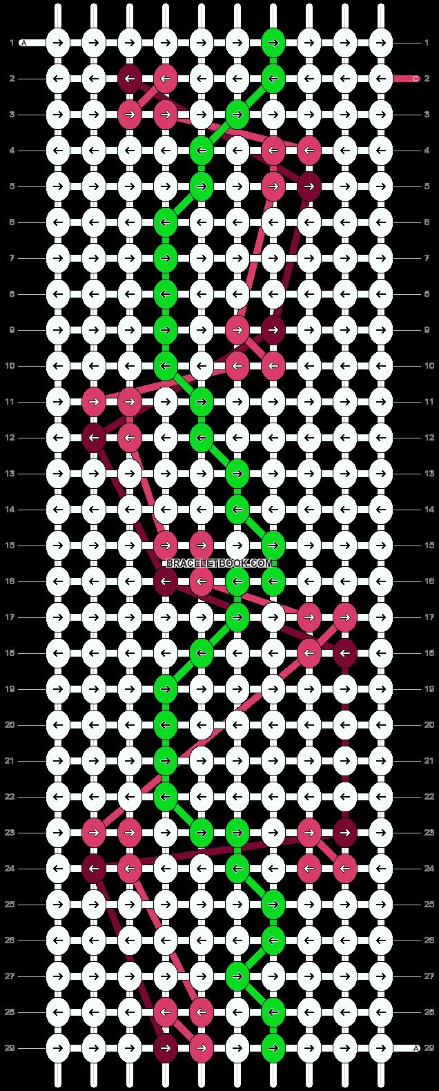 Alpha pattern #39196 pattern