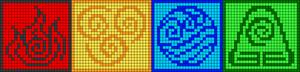 Alpha pattern #39201