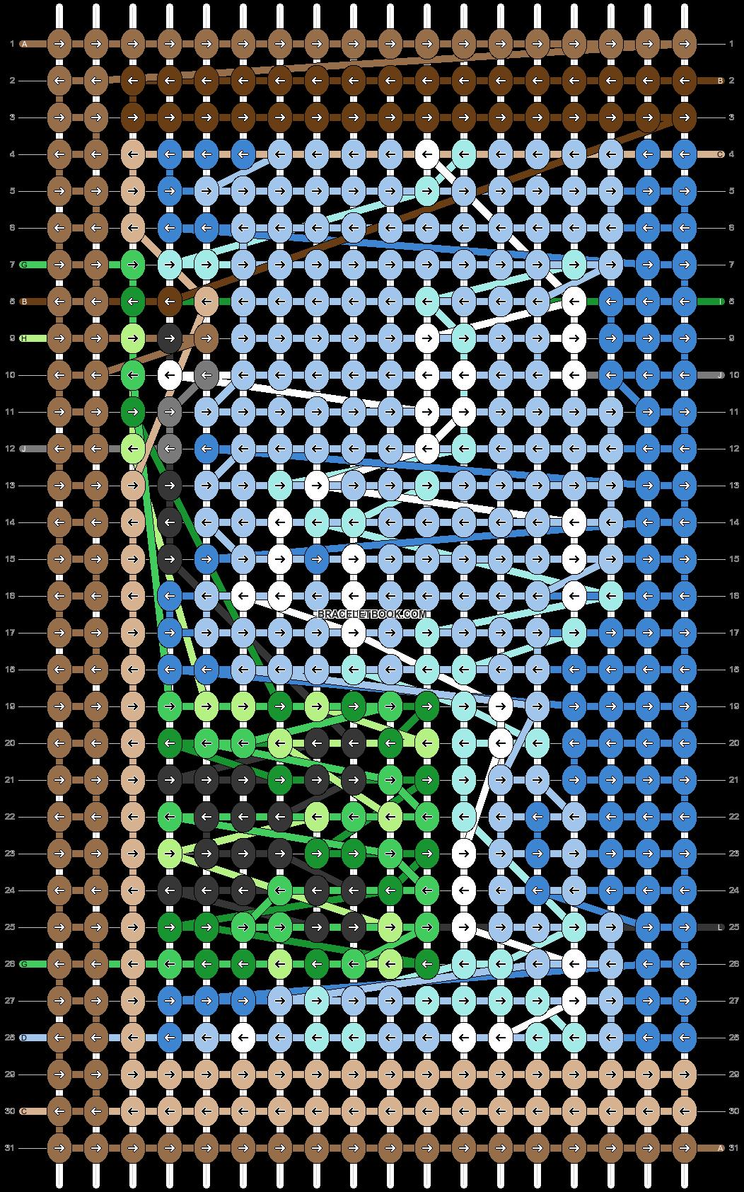 Alpha pattern #39202 pattern