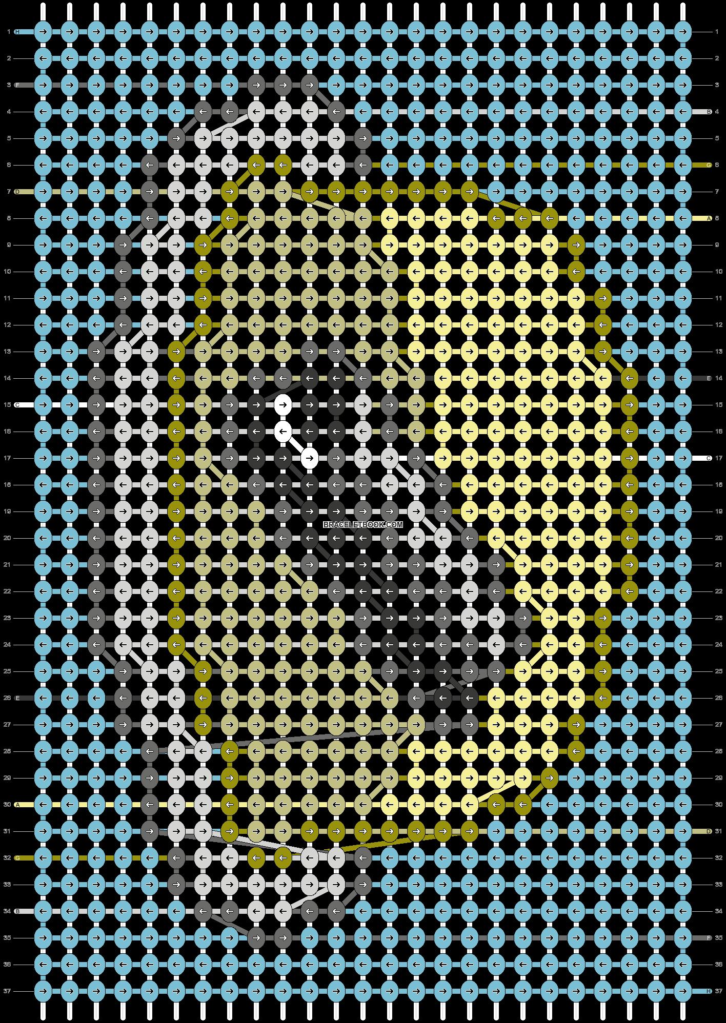 Alpha pattern #39212 pattern