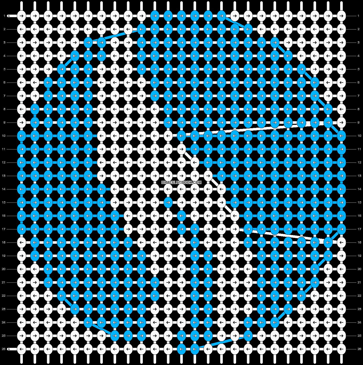 Alpha pattern #39230 pattern