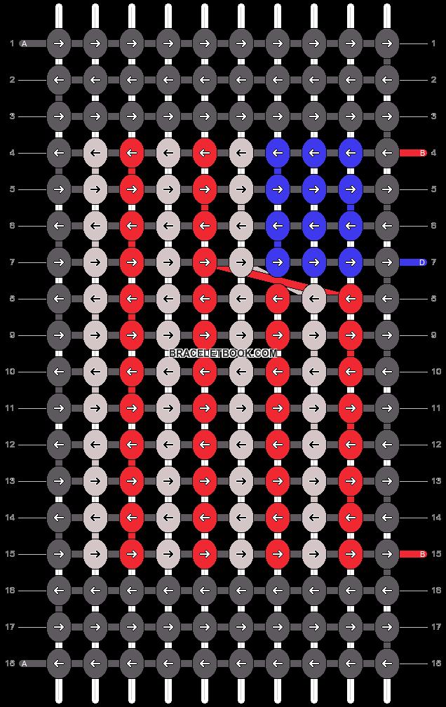 Alpha pattern #39235 pattern