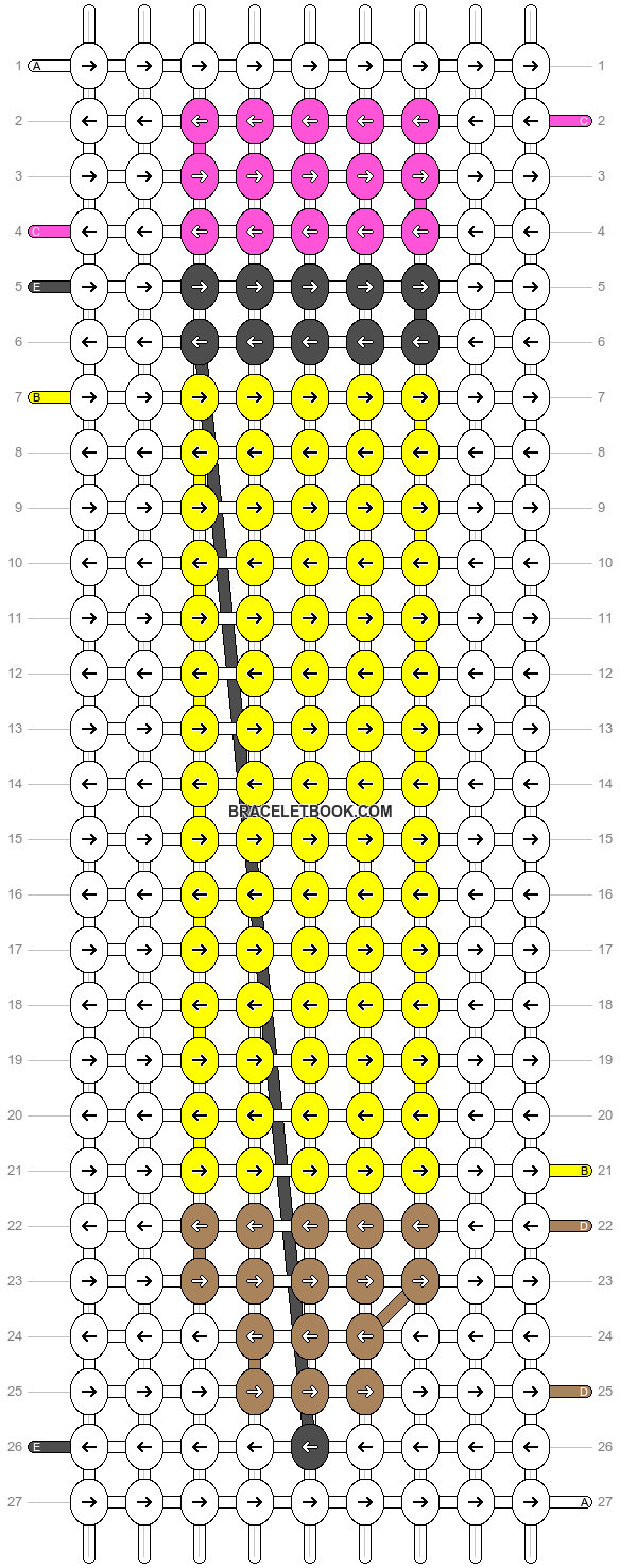 Alpha pattern #39241 pattern