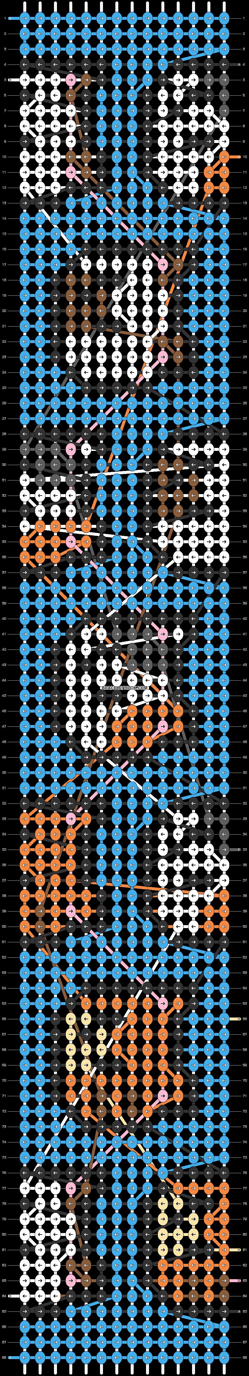 Alpha pattern #39260 pattern