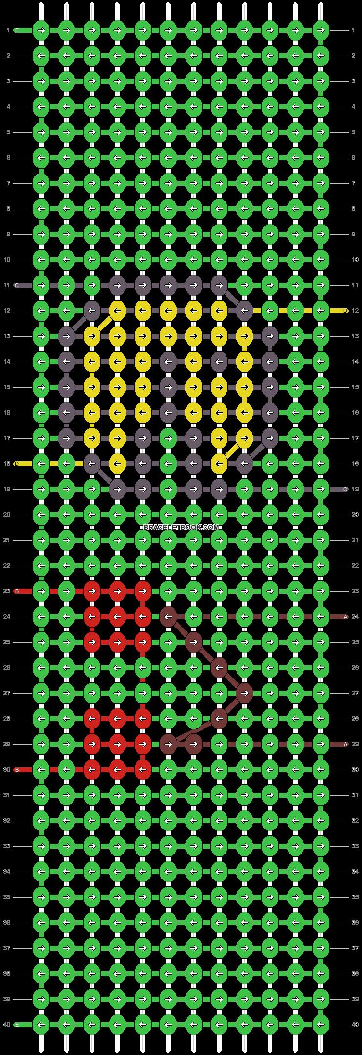 Alpha pattern #39262 pattern