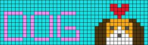 Alpha pattern #39282