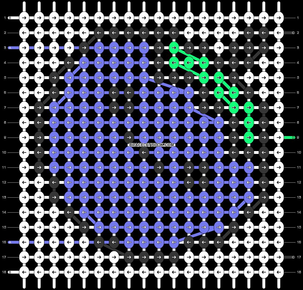 Alpha pattern #39284 pattern