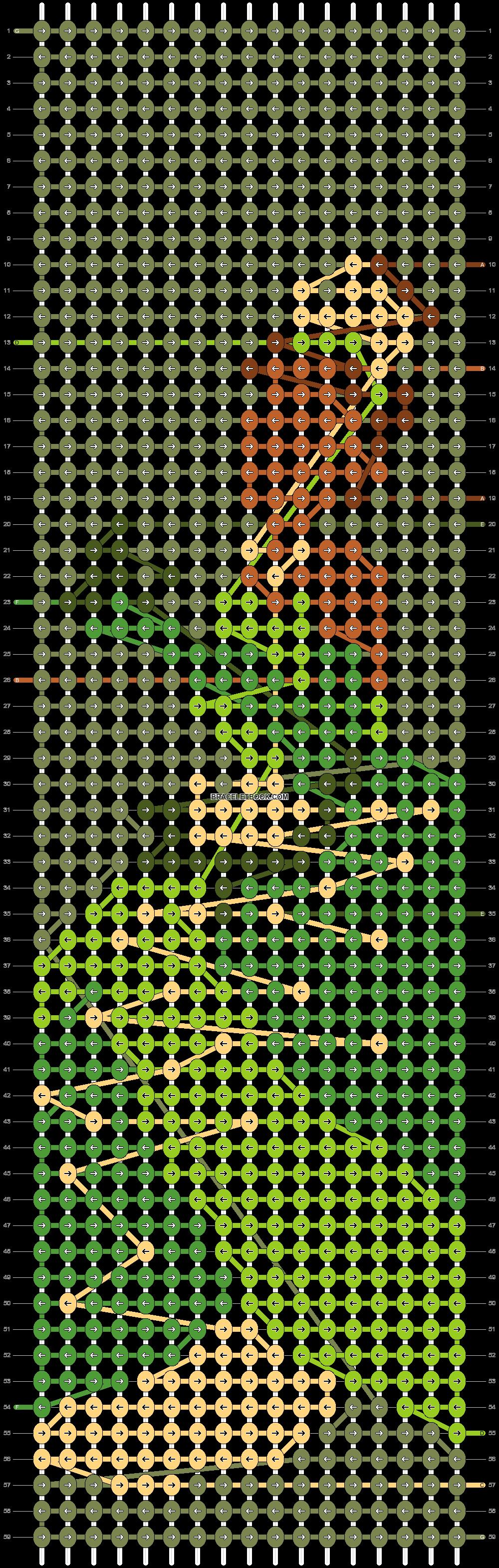 Alpha pattern #39291 pattern