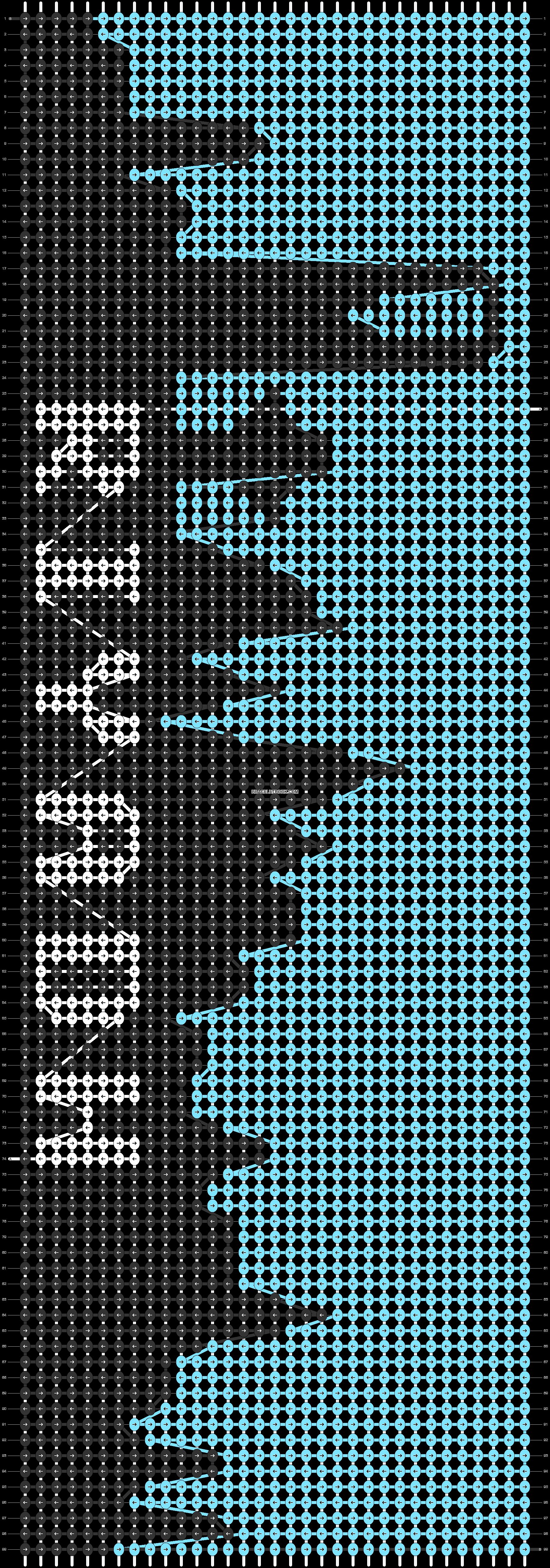 Alpha pattern #39311 pattern