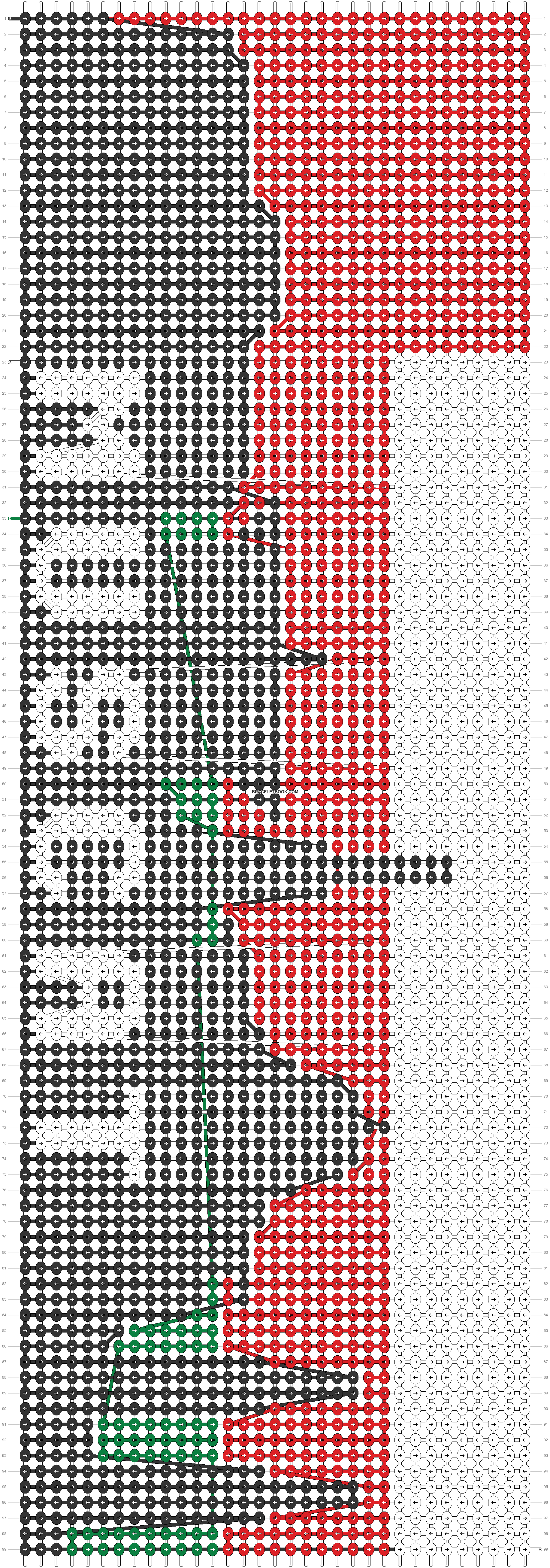 Alpha pattern #39331 pattern