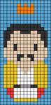 Alpha pattern #39378