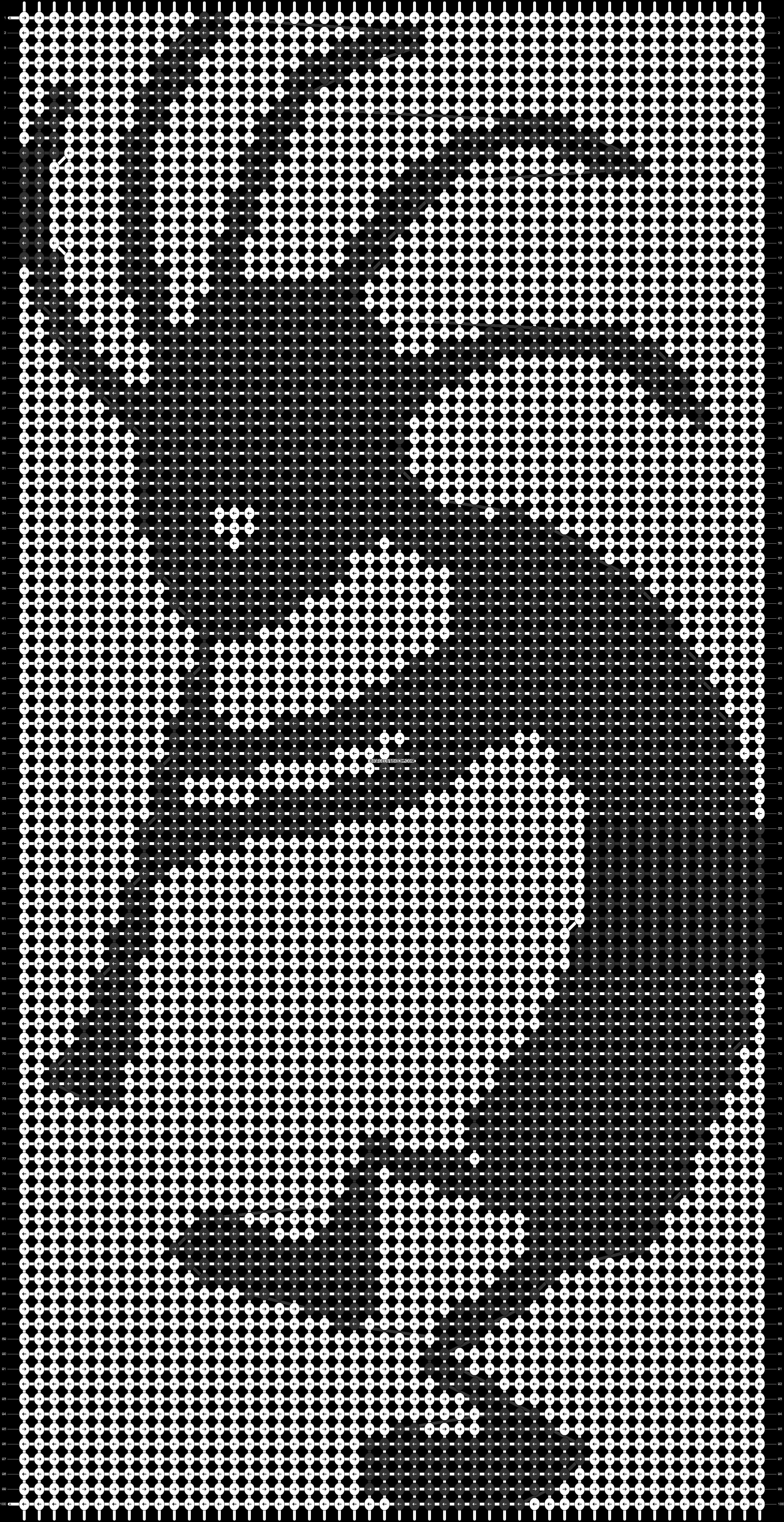 Alpha pattern #39387 pattern