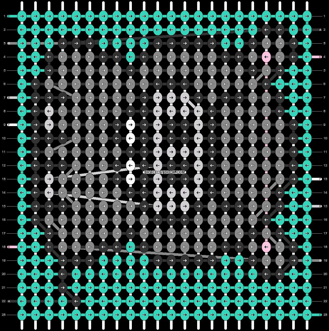 Alpha pattern #39392 pattern